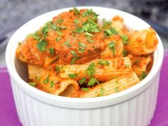 Eggplant Romesco Rigatoni (via Serious Eats)