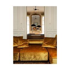 Home Interior Living Room .Home Interior Living Room Home Interior, Interior Architecture, Interior And Exterior, Interior Decorating, Modern Interior, Modern Sofa, Parisian Architecture, Yellow Interior, French Interior