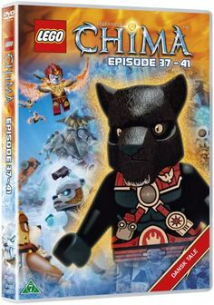 Lego: Legends Of Chima 8 - Episode 37-41 - dvd