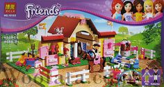 Mainan Lego Brick Friends 10163 Heartlake Stables Mainan Lego Brick Friends 10163 Heartlake Stables ini bertemakan peternakan kuda yang diurus oleh Mia dan Katharina. Katharina yang berpakaian resmi layaknya seorang penunggang kuda yang professional melatih kudanya melompat pada papan lompatan. Sementara Mia merawat kudanya di kandang dan memberinya makanan wortel…