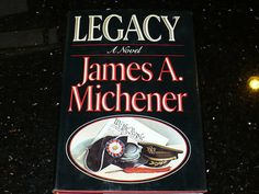 Books Novels by James A Michener  'Legacy' 1st Ed by booksvintage