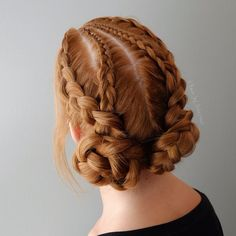 "1,178 Likes, 14 Comments - Alex Pelerossi (@hair_by_pelerossi) on Instagram: ""For my girls who wanted to see the back view  #hairbypelerossi #dutchbraid #cornrows…"""