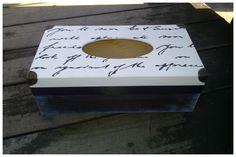 Pudełko na chusteczki - Więcej na mojej stronie na fb - Decoupage Gallery