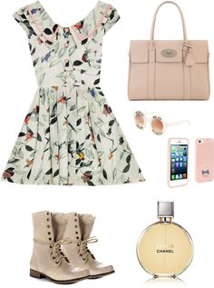 """""""Spring"""" by michele-van-wassenhove ❤ liked on Polyvore"""
