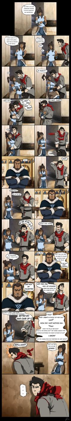 Korra and Mako, It was just to hilarious to pass up!