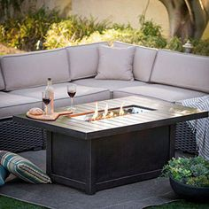 Best Fire Pit Tables Images On Pinterest Gas Fire Table Gas - Propane fire pit cocktail table