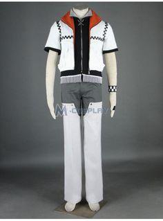 Kingdom Hearts Roxas 1st Cosplay Costume