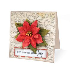 Fill This Day with Joy Card by Deena Ziegler - Scrapbook.com