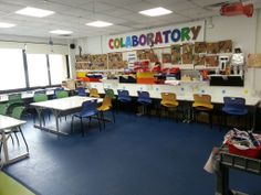 colab room -United Nations International School's MakerSpace AKA CoLaboratory