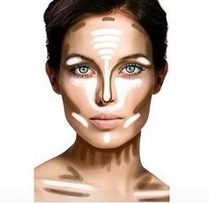 Contouring properly.