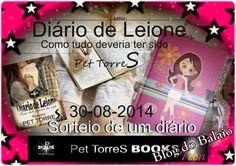 """Balaio de Livros: Sorteio de um """"DIÁRIO"""" DA série Diário de Leione:"""