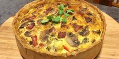 This Bacon and Vegetable Quiche is one of our favorites and it will be yours too. We have the quick and easy recipe here.