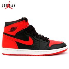 b0ad6f9ff758 Cheap Nike Air Jordan 1 Shoes Black Varsity Red   Amazing Shoes For Sale