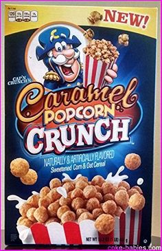Brands That Time Forgot Oat Cereal, Crunch Cereal, Breakfast Cereal, Cap'n Crunch, Cereal Boxes, Snack Recipes, Snacks, Weird Food, Seasonal Food