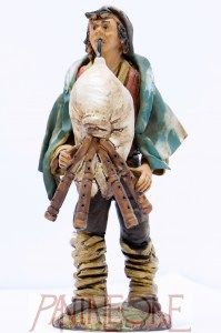 Pastore Zampognaro in terracotta - 2012PG