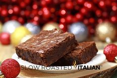 Best Outrageous Brownies + several Brownie Recipes theslowroasteditalian