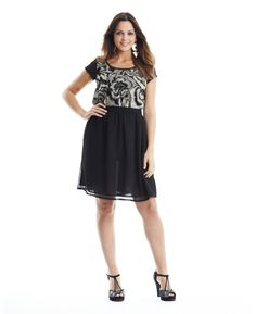 Embroidered Dress at Simply Be