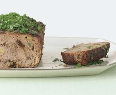 rustic french country meat loaf. like a love-child of meatloaf and pate.