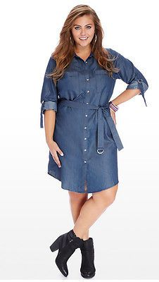 01 new Women denim Long Sleeve Casual Evening Cocktail Party dress Plus Size 16W