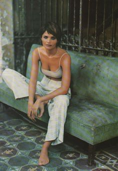 """"""" Our woman in Havana""""  Helena Christensen by Mikael Jansson"""