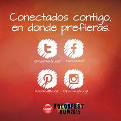 #KolorFestRunGT #muchomásqueunacarrera ¿Ya nos sigues en Facebook, Instagram y Twitter?