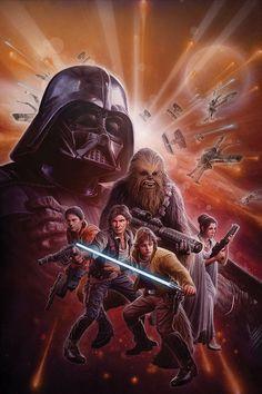 Star Wars Illustration