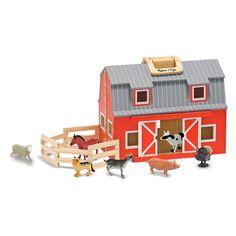 Melissa and Doug Fold & Go Barn | from hayneedle.com