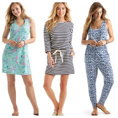 One outfit is more darling than the next!  The Vineyard Vines Women's Spring 17 Collection is so irresistible! Find a great selection at Fun in the Sun!  EDSFTG!