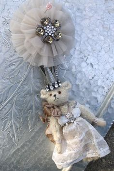 ...artful teddy by artist Letty Worley...