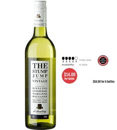 d'Arenberg The Stump Jump White Blend 2018 McLaren Vale - 6 Bottles Wine Presents, New Zealand Wine, Lime Sherbet, Snap Peas, Sauvignon Blanc, Red Apple, Pretty Good, Grilled Chicken, Wines