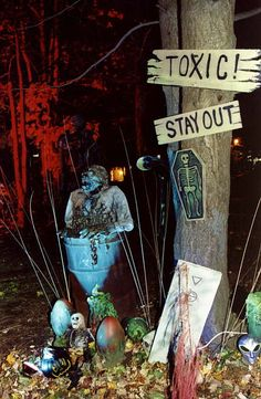 #Halloween #haunted toxic swamp