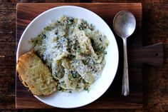 Braised Green Cabbage with Anchovies and Garlic recipe on Food52