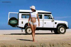 Tropical Land Rover