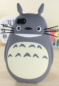 [grzxy6100095]Happy Totoro Phone Shell Case for iphone5/5S | cheershop - Accessories on ArtFire