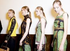 Prada Spring 2015 RTW – Backstage – Vogue