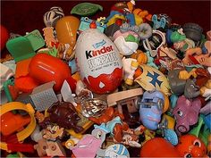 Kinder Egg toys ( German chocolate egg with surprise toys inside. So fun!)