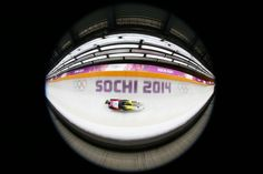Anke Wischnewski of Germany in action during the Women's Luge Singles (c) Getty Images Luge, Juventus Logo, Olympic Games, Team Logo, Olympics, Germany, Action, Group Action, Deutsch