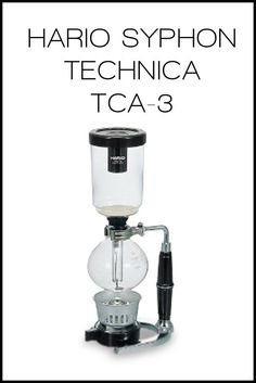 Hario Syphon Technica TCA-3 | Syphon | 1000k