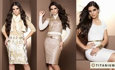 Nesse inverno 2013 as cores claras estão predominando na moda feminina, conferindo um ar elegante e impecável às produções da estação.  Confira mais no blog: http://www.titaniumjeans.com.br/blog/index.php?id=43