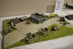 Dioramas - German WWII Airfield - Austin Scale Modelers Society Gallery