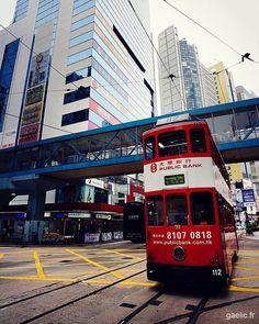 Hong Kong Central tramway #hk #cityscape #architecture #travelphotography (à Hong Kong)