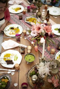 Bohemian Summer Dinner Party