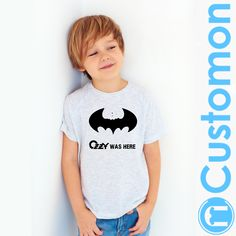 d15544c0 Ozzy was here Youth T-shirt Designer by #bluejean 🆒 - #Ozzy #. Customon