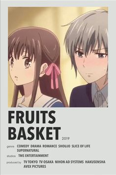 Poster Anime, Simple Anime, Anime Suggestions, Fruits Basket Anime, Anime Titles, M Anime, Japon Illustration, Anime Recommendations, Photocollage