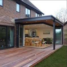 Conservatories against modern house extensions Snug Extensions, latest news . Patio Extension Ideas, House Extension Design, Extension Designs, House Design, Rear Extension, Conservatory Extension, Glass Extension, Living Room Extension Ideas, House Extension Plans