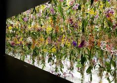 "Floating Flower Garden by teamLab - Japanese artists teamLab created an immersive experience with 2,300 suspended flowers. ""This was mesmerizing. It is a perfect mix of interaction and nature with such sense of poetry,"" says Baron. ""The wonderland field was the best way to start the fair."""