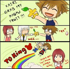 Sora does not like your ship, sorry