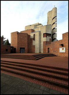 Christi Auferstehung, Köln, 1964-1970  Gottfried Böhm, Architect