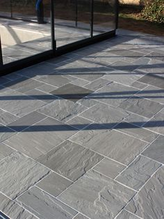 Royale Stones supplier of garden paving slabs and patio slabs. We have a wide range of Indian sandstone, granite paving, porcelain paving and slate paving in UK Garden Tiles, Small Backyard, Patio Flooring, Outdoor Flooring, Patio Tiles, Stone Patio Designs, Paving Slabs, Patio Design