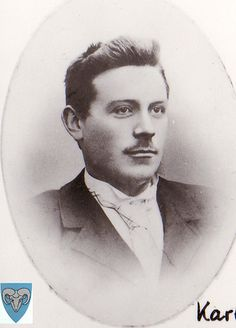 Karl Endreson Søyland, my grandfathers brother. Norway, Brother